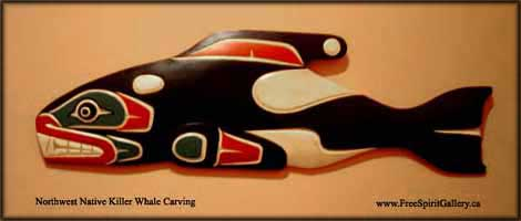 northwest indian art killer whale