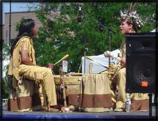 first nations native aboriginal festival drummers