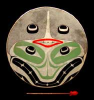 haida art robert davidson native drum
