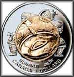 inuit art coin