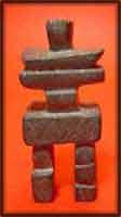 inukshuk sculpture