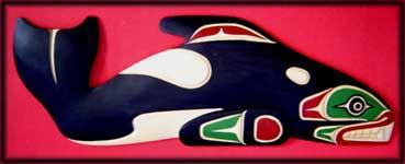 Kunstschnitzereien der Nordwestlichen Indianischen Ureinwohner