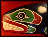 killerwhale native american wood carvings