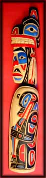 northwest coast indian art carving