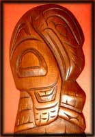 pacific northwest native canadian art raven