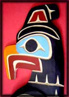 native american art thunderbird