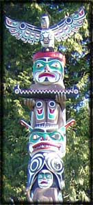 west coast indian totem poles