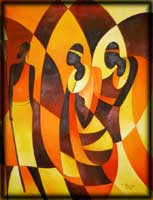 image african art paintings prints