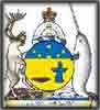 inukshuk coat of arms inuit eskimo canadian arctic canada