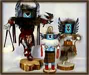 image indian kachina dolls