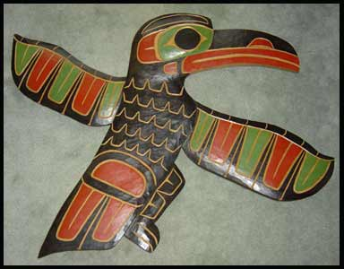 image custom canadian aboriginal art raven