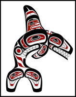 image pacific northwest native american prints art paintings