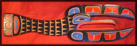 pacific northwest native canadian art raven indian image