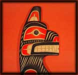 northwest indian art carvings bear