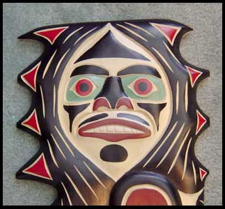 image custom design canadian aboriginal art sasquatch