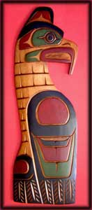 native american art thunderbird northwest indian