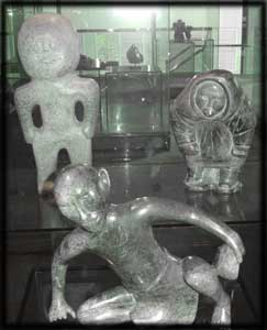 image inuit shamanism legends mythology sculptures