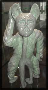 image inuit mythology legends shamanism sculptures