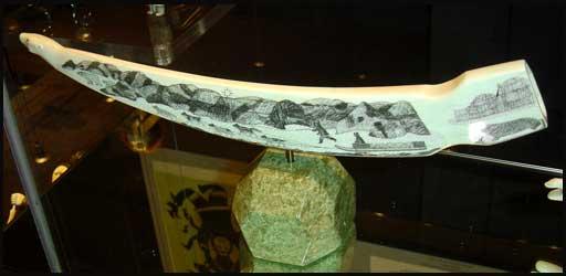 Inuit Ivory Bone Carvings