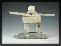 image Inuit Inukshuk Sculptures Eskimo Carvings